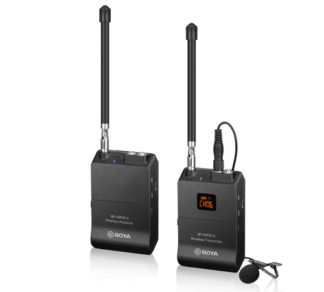 BOYA BY-WFM12 VHF WIRELESS MICROPHONE