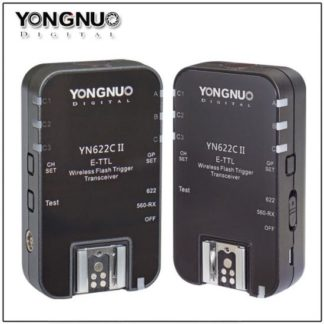 Wireless Flash Trigger Trannsceiver Set Can YN-622C II