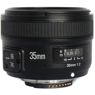 YongNuo 35MM F2 lens for Nikon YN-35MM F2