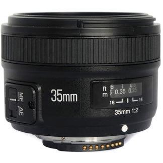 YongNuo 35MM F2 lens for Nikon YN-35MM F2