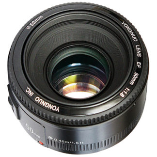 YongNuo 50MM F1.8 lens for Canon YN50mm F1.8 C
