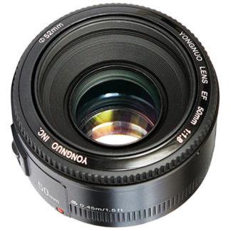 YongNuo 50MM F1.8 lens for Canon YN50mm F1.8 C