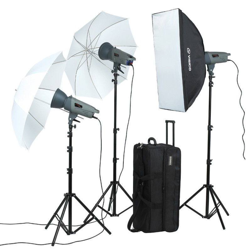 VISICO VL-300 (3 IN 1) STUDIO LIGHT KIT