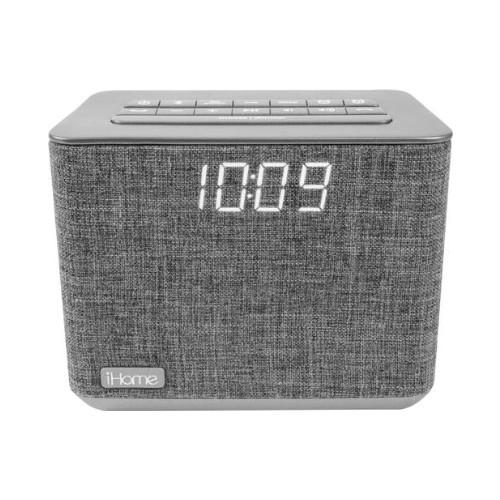 IHOME IBT232GE ALARM CLOCK RADIO