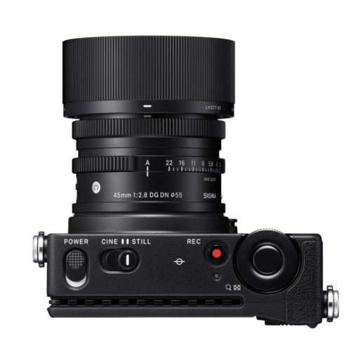 Sigma fb camera with 45mm lens.
