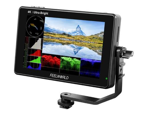 FEELWORLD LUT7 7 Inch 2200nits 3D LUT Touch Screen DSLR Camera Field Monitor