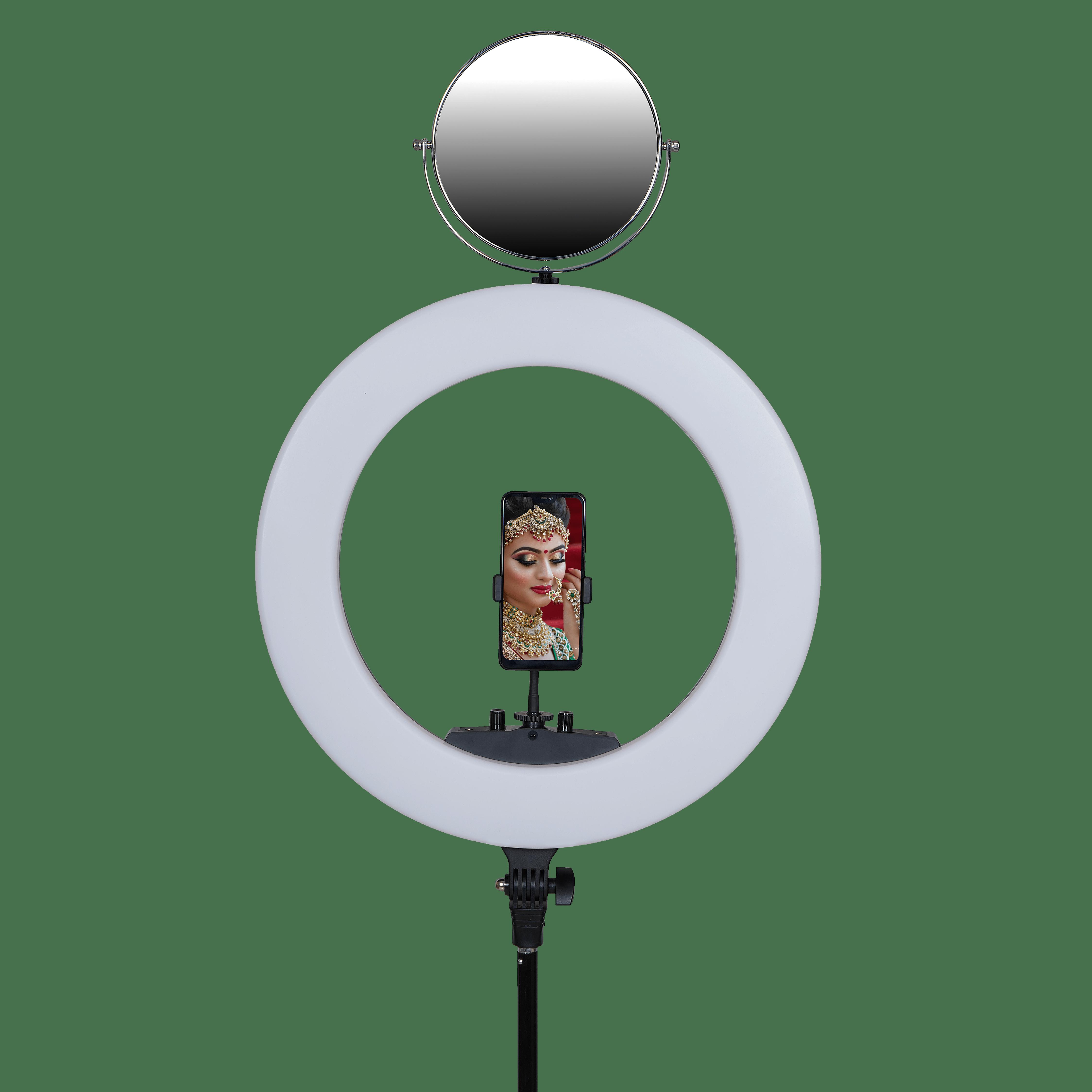 Kodak R7 20″ Ring Light With Remote, Mirror & Handle